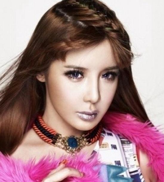 Hình ảnh Sao Hàn điệu đà với tóc tết mái số 5