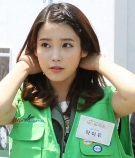 Hình ảnh Sao Hàn điệu đà với tóc tết mái số 12