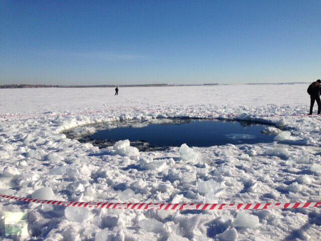 Hình ảnh Ảnh: Mưa thiên thạch tàn phá nước Nga số 4