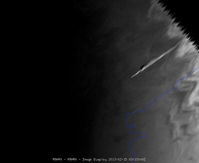 Hình ảnh Ảnh: Mưa thiên thạch tàn phá nước Nga số 6