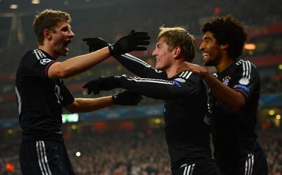 Điểm tin thể thao sáng 20/2: Arsenal 1-3 Bayern: Vé tứ kết sớm cho Hùm xám...