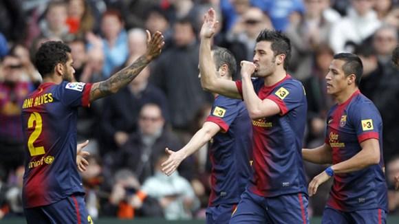 David Villa chính là kế hoạch B của Barca