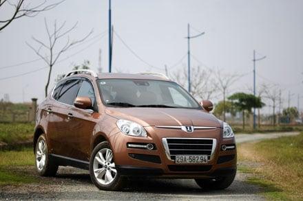 Hình ảnh Luxgen7 - SUV đến từ Đài Loan số 1
