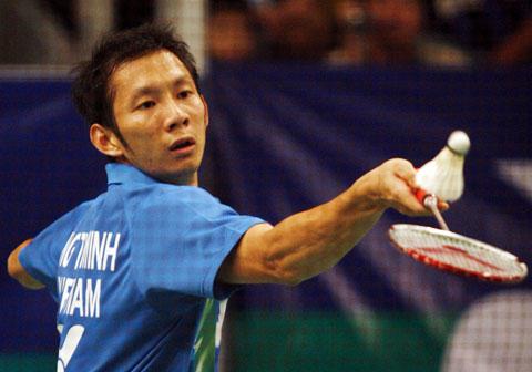 Thêm một lần Tiến Minh thua bởi Lee Chong Wei