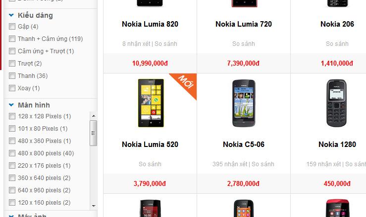 Hình ảnh Lumia 520 giá chính thức tại Việt Nam gần 3,8 triệu đồng số 1