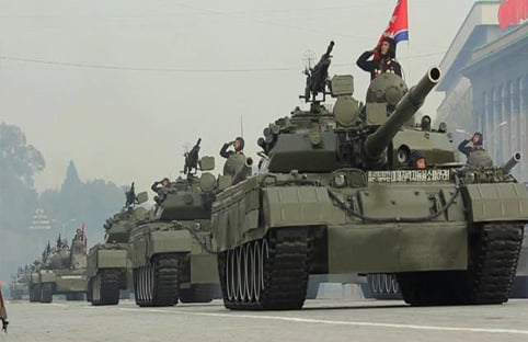 Hình ảnh Quân đội Triều Tiên 'đáng sợ' đến mức nào? số 1
