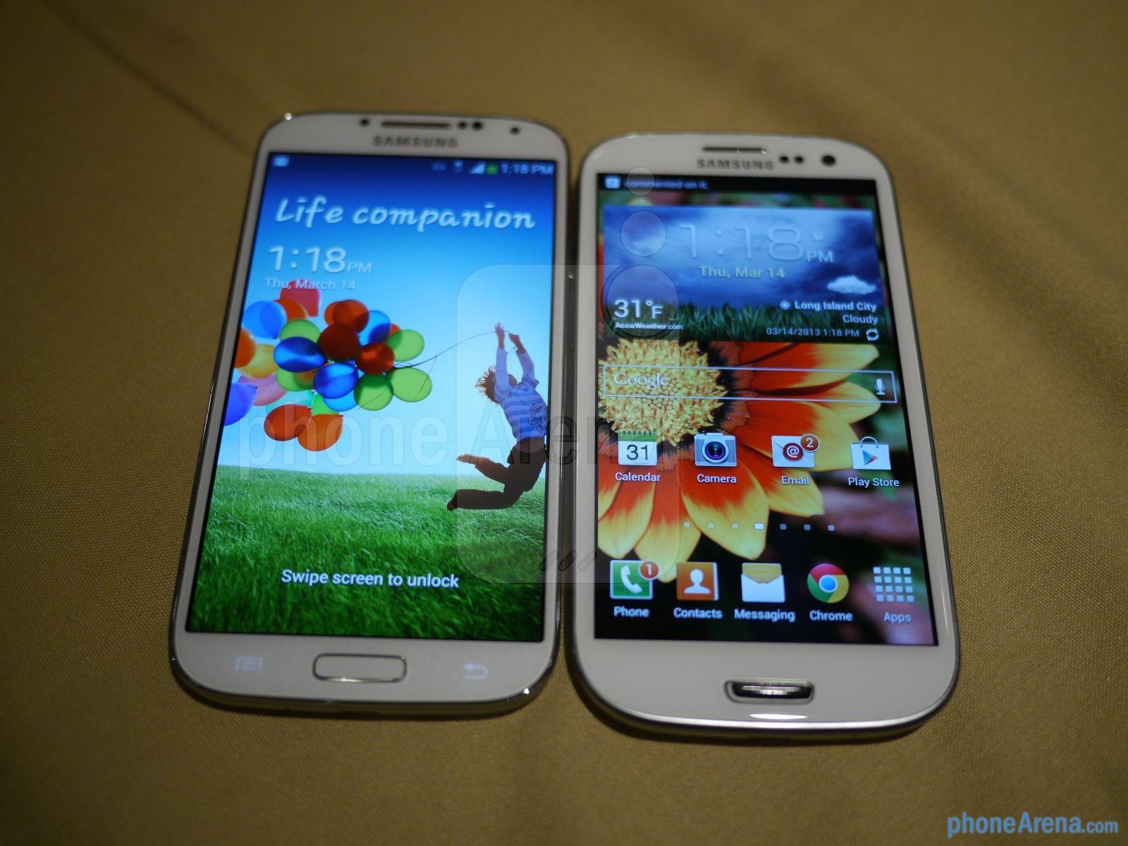 Hình ảnh So sánh cấu hình Galaxy S4 và Galaxy S3 số 2
