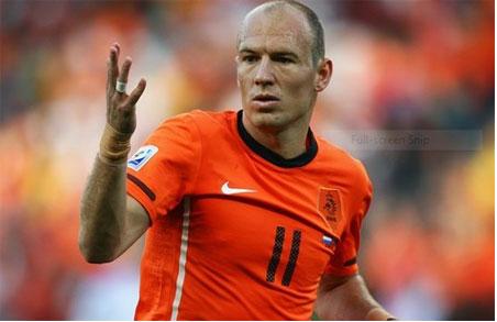 Inter bất ngờ muốn có Robben