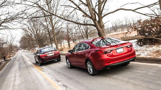 Hình ảnh So sánh Mazda6 2014 và Honda Accord 2013 số 10