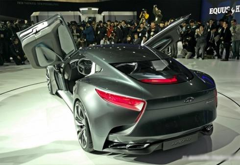 Hyundai ra mắt mẫu xe thể thao hạng sang HND-9 concept