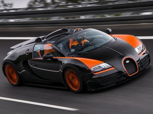 bugatti ra mat sieu xe mui tran dac biet1 Bugatti Veyron Grand Sport Vitesse WRC Edition kỷ niệm kỷ lục thế giới của đàn anh
