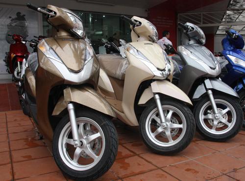 Hình ảnh Honda Lead 125 tăng giá nhẹ ở Hà Nội số 1