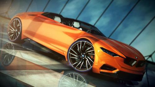he lo hinh anh ban concept bmwmz84 BMW MZ8 concept: Cứng cáp và hài hòa hơn