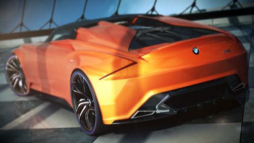 he lo hinh anh ban concept bmwmz88 BMW MZ8 concept: Cứng cáp và hài hòa hơn