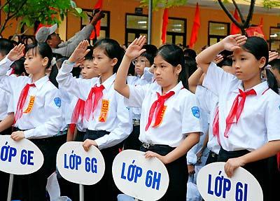 TPHCM: Thông tin mới nhất về tuyển sinh lớp 6 năm học 2013 - 2014