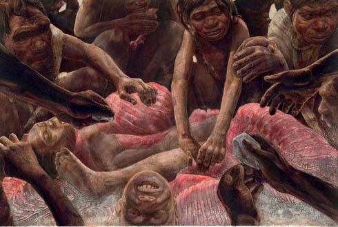 Hình ảnh Sởn gai ốc tục lệ ăn thịt người chết số