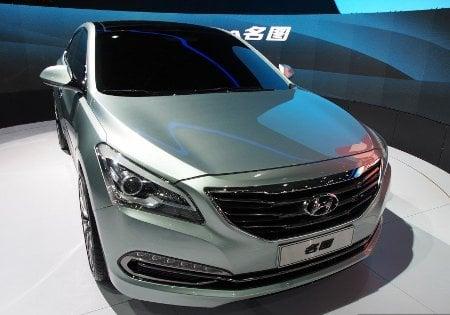 Hình ảnh Hyundai trình làng xe Sonata mini số 3