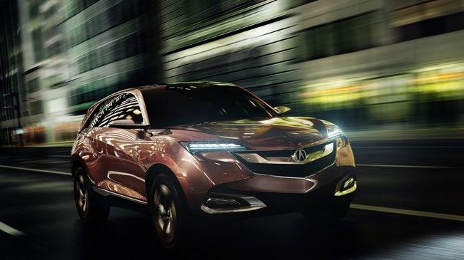 Hình ảnh Acura SUV-X - Xe thể thao đa dụng cỡ nhỏ mới số 1