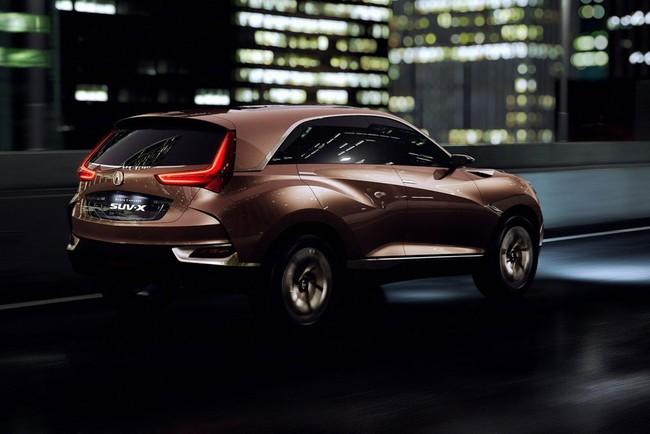 Hình ảnh Acura SUV-X - Xe thể thao đa dụng cỡ nhỏ mới số 4