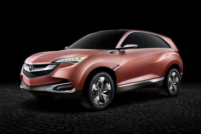 Hình ảnh Acura SUV-X - Xe thể thao đa dụng cỡ nhỏ mới số 5