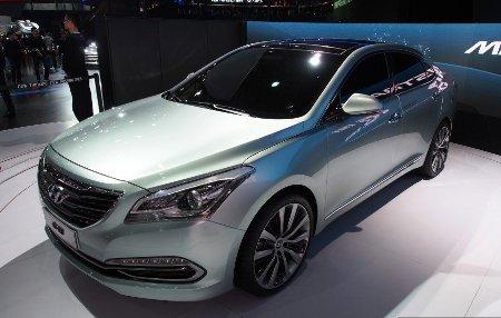 Hình ảnh Hyundai trình làng xe Sonata mini số 4