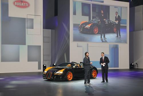 sieu mui tran nhanh nhat the gioi ra mat3 Bugatti Veyron 16.4 Grand Sport Vitesse WRC   Ông hoàng tốc độ