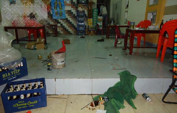 Hình ảnh Ẩu đả trong quán nhậu, 1 thanh niên tử vong số 2