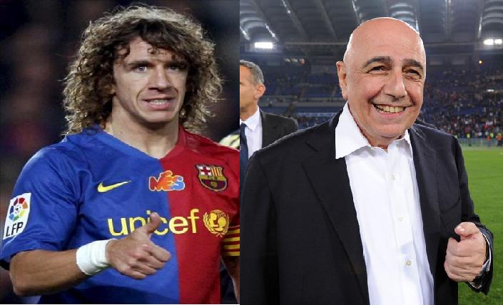 Puyol rời Barca để khoác áo Milan chỉ là tin đồn