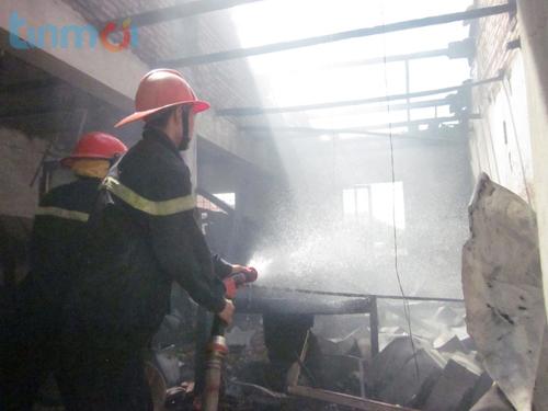 Nghệ An: Cháy lớn tại BV Y học cổ truyền hàng trăm bệnh nhân náo loạn 5