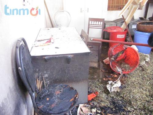 Nghệ An: Cháy lớn tại BV Y học cổ truyền hàng trăm bệnh nhân náo loạn 8