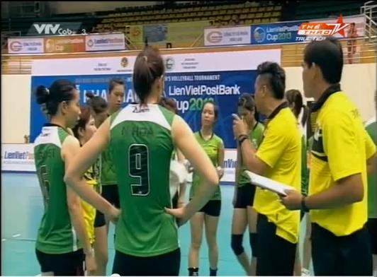 Video bóng chuyền: VTV Bình Điền Long An 3-2 Shandong