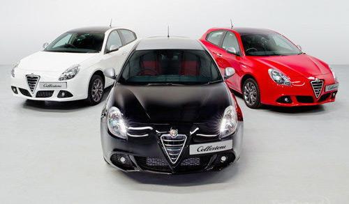 Hình ảnh Alfa Romeo Giulietta Collezione bản đặc biệt số 1