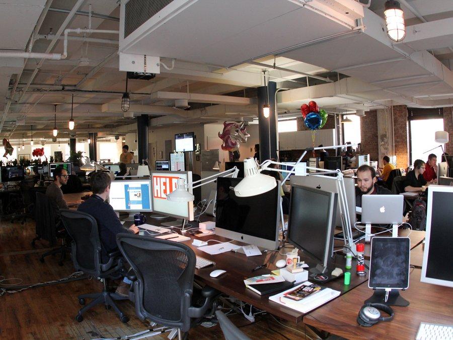 Hình ảnh Khám phá văn phòng làm việc thoải mái như ở nhà của Tumblr số 5