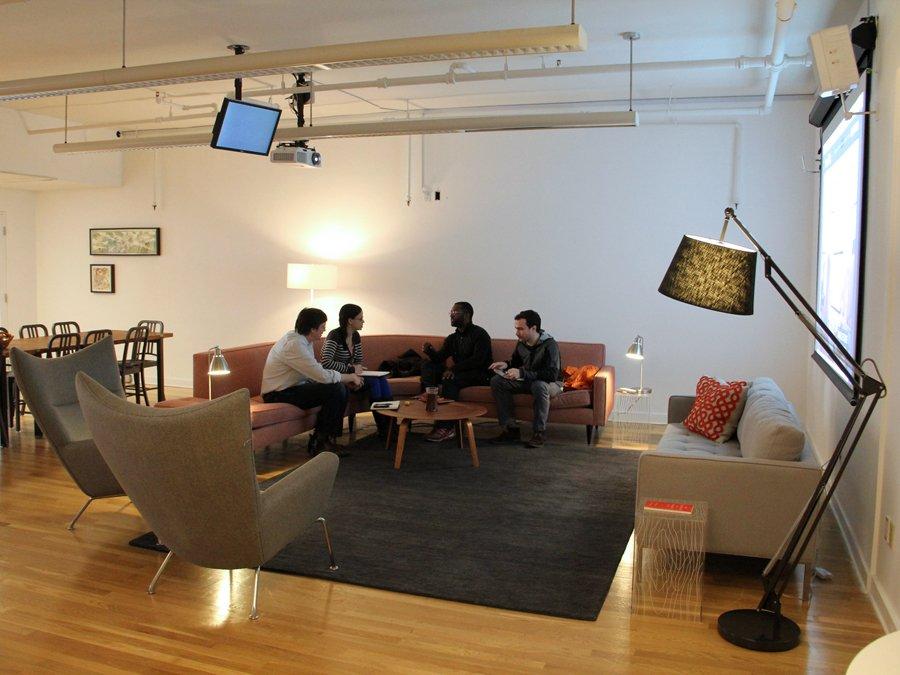 Hình ảnh Khám phá văn phòng làm việc thoải mái như ở nhà của Tumblr số 9