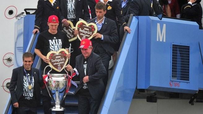 Vô địch C1: Bayern đã trở lại Đức
