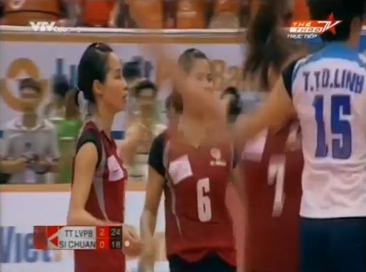 Video bóng chuyền: Thông Tin LienVietPostBank 3-0 Si Chuan (Tứ Xuyên)