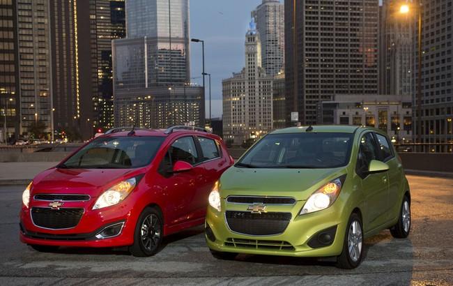 Hình ảnh Chevrolet Spark 2014: Tiết kiệm nhiên liệu hơn số 1