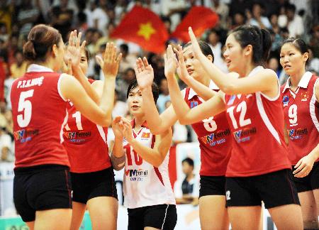 Danh sách tập trung tuyển thủ bóng chuyền nữ Việt Nam