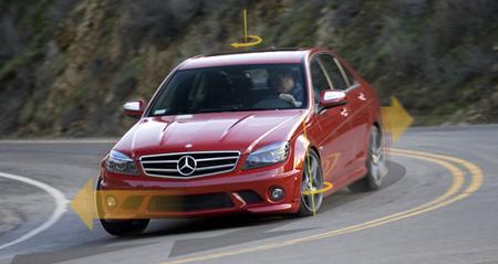 he thong an toan 2 giay tren xe mercedes1 Mercedes mất 2 giây để ứng phó với tình huống khẩn cấp