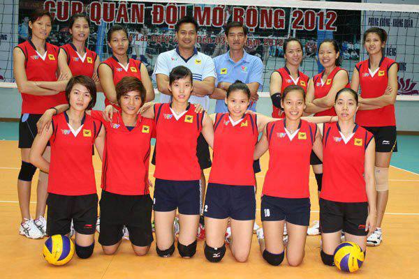 Vòng loại giải bóng chuyền nữ vô địch thế giới 2014 khu vực Đông Nam Á VTV Bình Điền Long An đại diện Việt Nam
