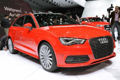 Hình ảnh Audi A3 Sportback E-tron công bố giá số 1