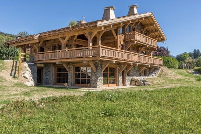 Bất động sản - Những căn nhà bằng gỗ triệu đô (Hình 2).