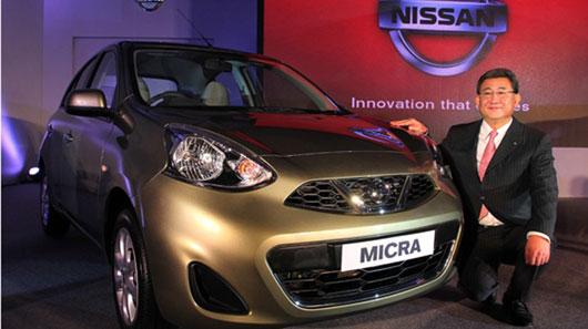 Sắp có ô tô Nissan rẻ hơn cả xe máy Honda SH