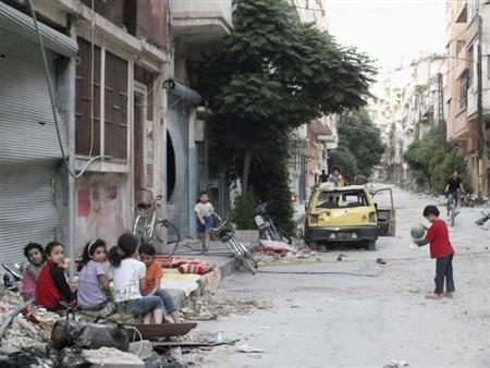 Nội chiến tại Syria khiến 2,5 triệu trẻ em thất học