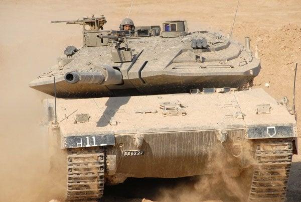 Tiêu điểm - 'Siêu phẩm' xe tăng của quân đội Israel