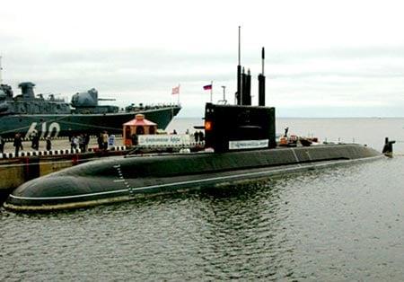 Khám phá tàu ngầm Trung Quốc muốn có từ Nga