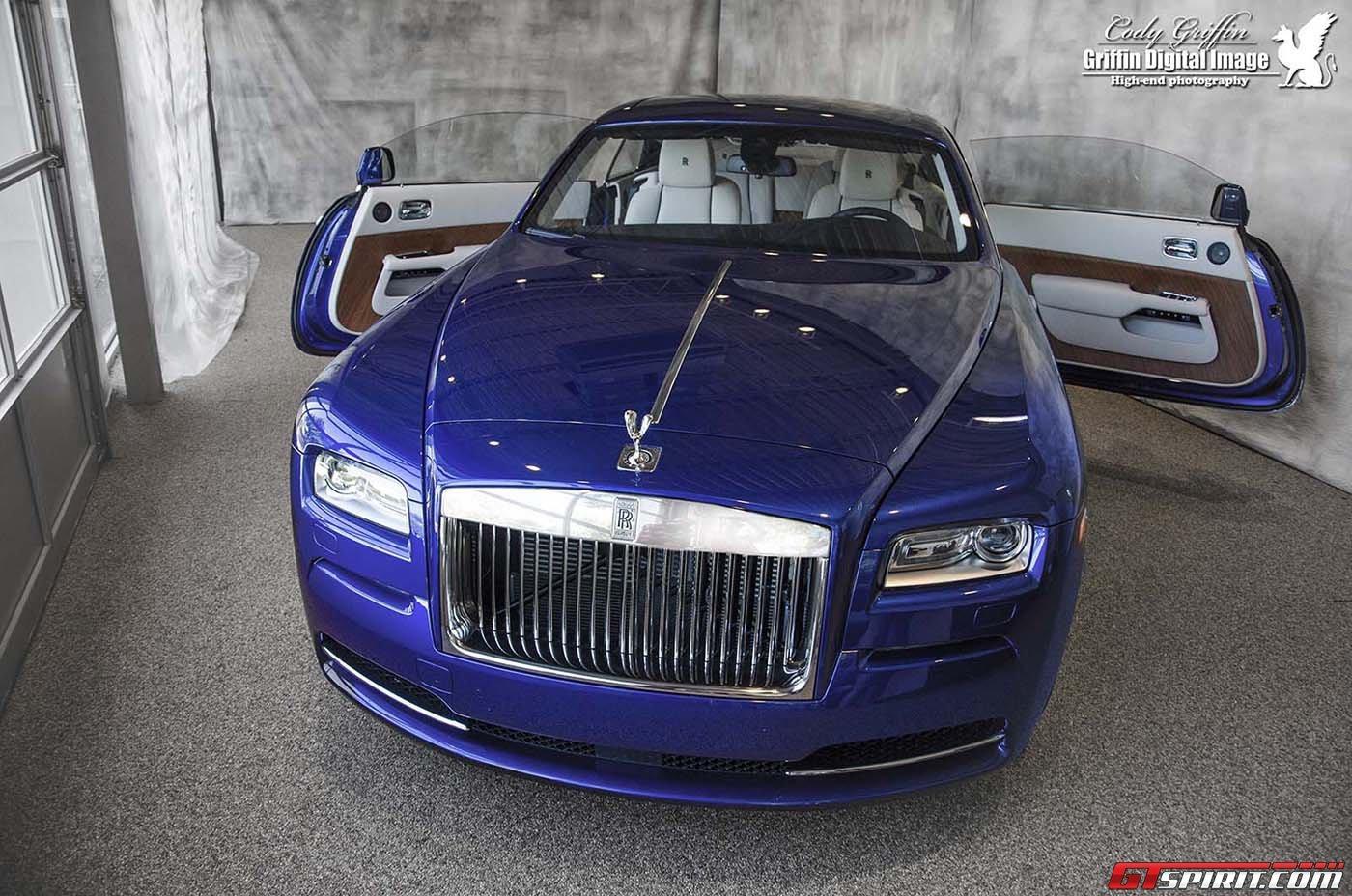 Ô tô-Xe máy - Chùm ảnh: Rolls-Royce Wraith màu xanh ở Boston
