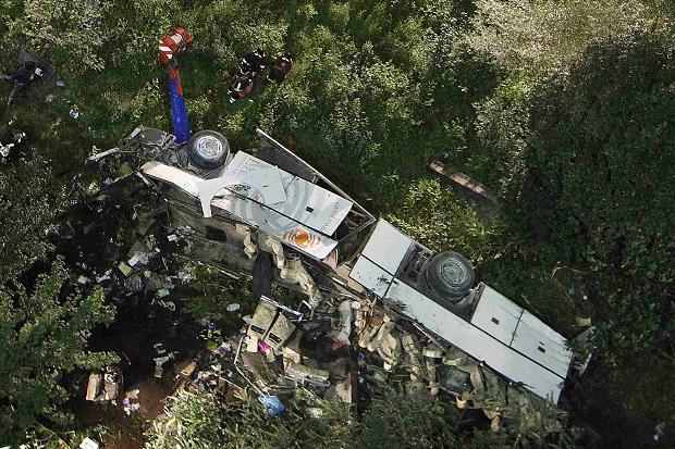 Hình ảnh Hình ảnh tang thương sau vụ tai nạn thảm khốc tại Italy số 3