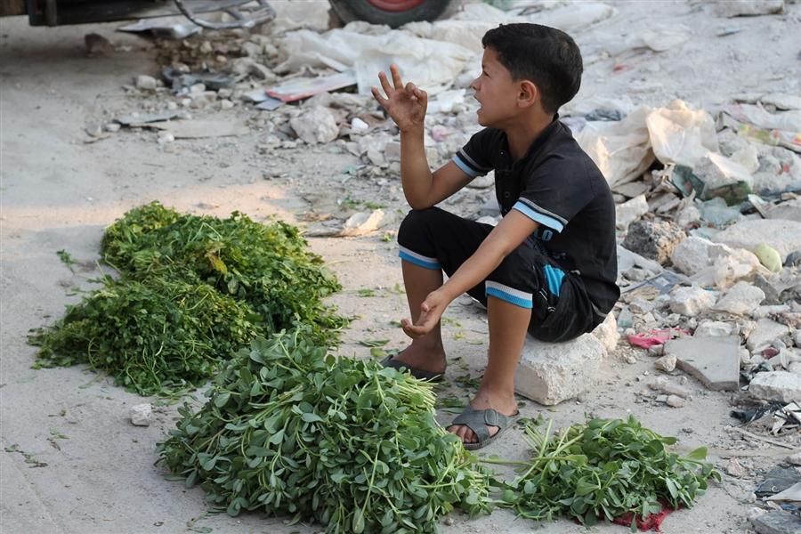 Tiêu điểm - Dân thường Syria kiếm ăn trên 'con đường tử thần' (Hình 5).