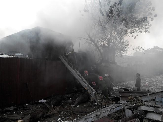 Nữ sinh chết thảm trong vụ cháy sau khách sạn La Thành 5
